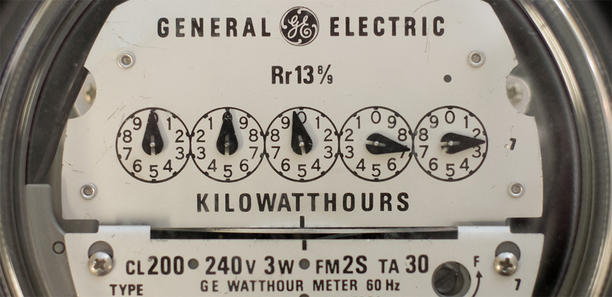 Electric Meter Number : How to read your meter
